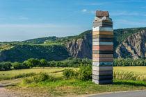 Buchturm am Wegesrand von Erhard Hess