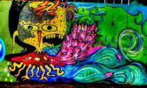 Graffiti of Brooklyn. von Maks Erlikh