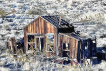 Miner's Shack in the Mojave Desert by Kathleen Bishop