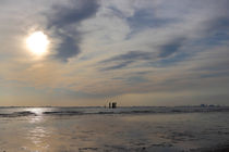 Abendstimmung an der Nordsee - Sunset at the North Sea by ropo13