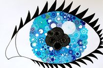 Spiral Eye! von rachelevansdesigns