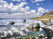 Lake Abert on a Hot August Afernoon von Kathleen Bishop