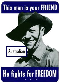 144-41-australian-is-your-friend-ww2-poster