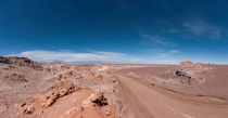 Street into the Atacama Desert by Steffen Klemz