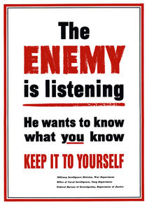 225-122-enemy-is-listening-ww2-poster