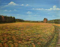 'Herbstlandschaft' von Peter Schmidt
