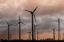 Windkrafträder Dithmarschen bei Büsum by Andreas Jantzen