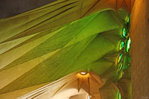 [barcelona] - ... sagrada familia green shine by meleah
