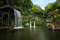 Beautiful-waterfall-at-monte-palace-tropical-garden