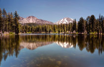 Reflection Lake, Lassen National Park by Chris Frost