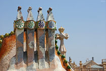 [barcelona] - ... chimney of casa batlló von meleah