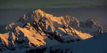 Sunrise on Mont Blanc by Elias Lefas