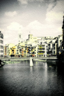 Brushstrokes in Girona by Laura Benavides Lara