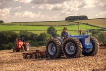 Classic Tractors at work  by Rob Hawkins