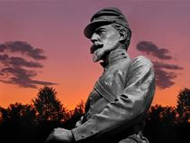 Sunset At Gettysburg by David Dehner