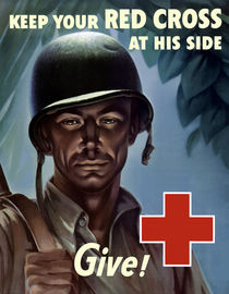 Keep Your Red Cross At His Side by warishellstore
