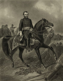 General Grant On Horseback by warishellstore