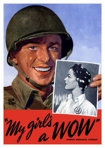 My Girl's A WOW! Woman Ordnance Worker -- WWII by warishellstore