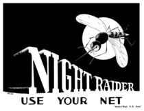 Night Raider -- Use Your Net -- WWII by warishellstore