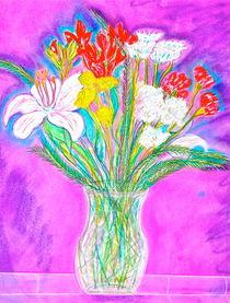 'Neon Bouquet' by Christine Cooper