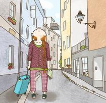 Lotta in Stockholm by Kate Hasselnott