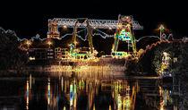 Container Terminal in Emmerich von augenblicke