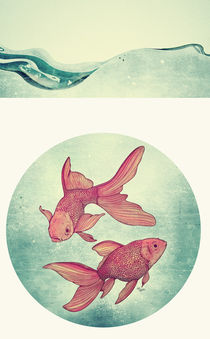 Goldfishes by Mike Koubou
