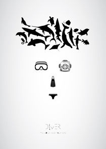 Diver | The world inside your head  von Theodoros Kontaxis