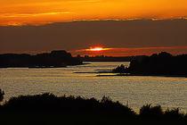 Sonnenuntergang am Niederrhein von augenblicke
