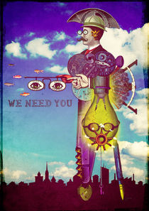 We Need YOU! von Sybille Sterk