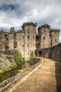 Raglan Castle by David Tinsley