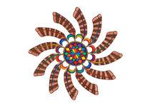 Dreamcatcher Mandala Card - Full Color by themandalalady