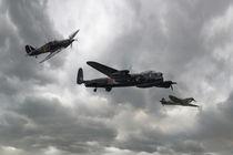 Battle of Britain Memorial Flight by James Biggadike