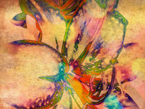 """Springtime Abstract"" von Maggie Vlazny"