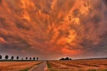 Wolken über den Kornfeldern bei LB by fabinator