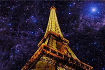 Eiffel Tower Photographic Art by David Dehner