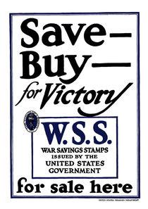Save, Buy, for Victory von warishellstore
