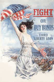 Fight or Buy Bonds -- WWI von warishellstore