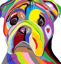 Bulldog by eloiseart