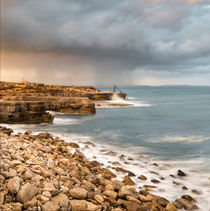 Sunset Storms at Portland Bill von Chris Frost