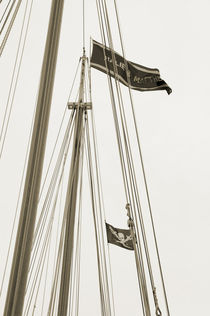 Ship's Flag - Key West by shotwellphoto