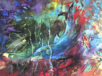 Dolphin Dives by Miki de Goodaboom