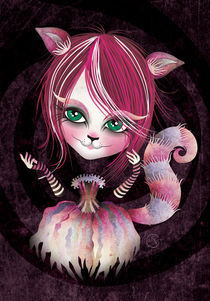 Cheshire Kitty von Sandra Vargas