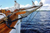 Segelschiff I von Michael Beilicke