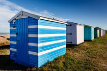 Blue with white stripes. von Tom Hanslien