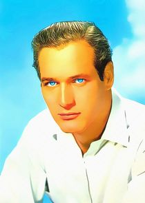 Paul Newman by Art Cinema Gallery