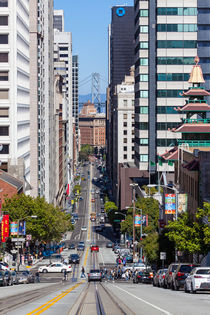 view to the bridge in San Francisco by Craig Lapsley