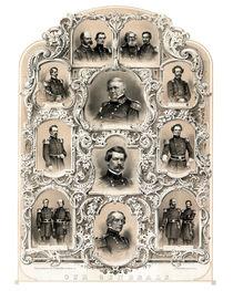 Our Generals -- Union Civil War by warishellstore