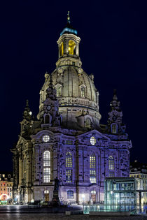 Frauenkirche mit Tiefgarage und Dr. Martinus by Uli Gnoth