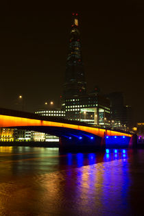 The Shard and London Bridge by David Pyatt